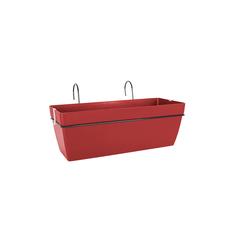 Ящик балконный для цветов Artevasi Capri 50см темно-красное