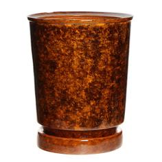 Горшок для цветов Элитная керамика вазон коричневый d33см 33х40, 30л