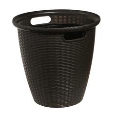 Кашпо напольное ротанг d33/30л венге Пластик центр