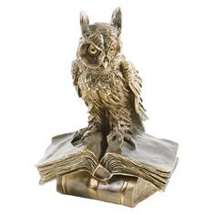 Ученый филин скульптура Bogacho