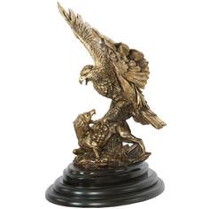 """Скульптура Bogacho Сувенир """"Поединок орла с шакалом""""-2 , Б"""
