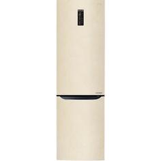Холодильник LG GW-B499SEFZ бежевый