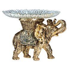 Фруктовница-конфетница слон - 5 52048. 2000182634152 Bogacho