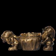 Гном - все богатство в дом скульптура 22519. 2300149920015 Bogacho