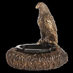 Пепельница соколиная охота скульптура 22514. 2300149680018 Bogacho