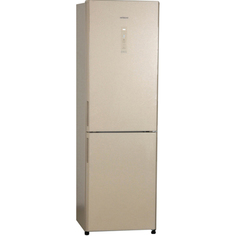 Холодильник Hitachi R-BG410PU6XGBE бежевый