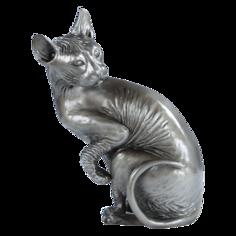 Скульптура кошка Преданная Фрейя Bogacho