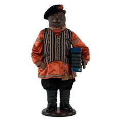 Коллекционная кукла Bogacho Медведь Николай Иванович