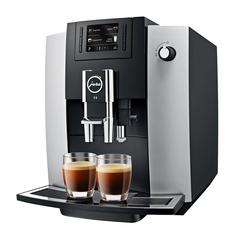Кофемашина Jura E6 Platin Silver/Black