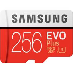 Карта памяти Samsung EVO Plus MicroSD 256GB (MB-MC256GA/RU)