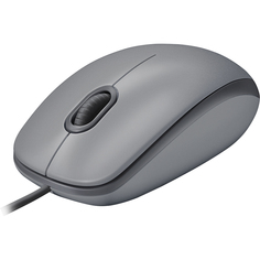 Мышь проводная Logitech M110 Silent Mid Gray 910-005490
