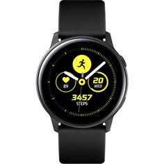 Умные часы Samsung Galaxy Watch Active Черный сатин