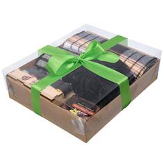 Подарочный набор Банные штучки для мужчин (Черный) 5 предметов