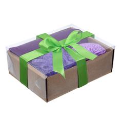 Подарочный Банные штучки Ванный набор Бархатная кожа 4 предмета