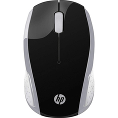 Мышь беспроводная HP Wireless Mouse 200 Pike Silver 2HU84AA