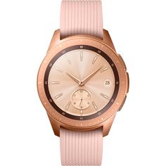 Умные часы Samsung Galaxy Watch 42 мм SM-R810 розовое золото