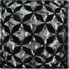 Декор Роскошная мозаика Сфера платина 6,6x6,6 см