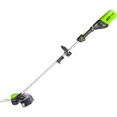 Триммер Greenworks GD60LTK2 c АКБ 2 Ач и ЗУ