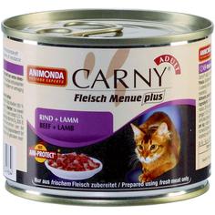 Корм для кошек ANIMONDA Carny говядина, ягненок 200г