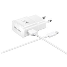 Сетевое зарядное устройство Samsung Fast Charging EP-TA20EWECGRU White