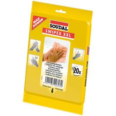 Очищающие салфетки Soudal Swipex XXL 20 шт