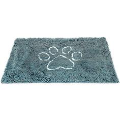 Коврик для собак DOG GONE SMART супервпитывающий Doormat 89x66 см морская волна