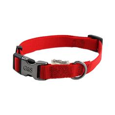 Ошейник для собак GREAT&SMALL 15x300-450мм Нейлон красный
