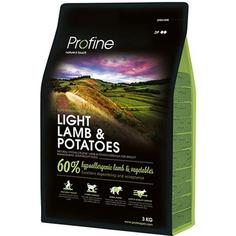 Корм для собак Profine Light при избыточном весе, ягненок, картофель, 3 кг