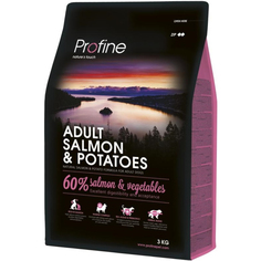 Корм для собак Profine Adult лосось, картофель, 3 кг