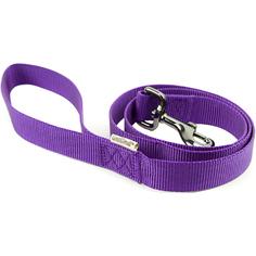 Поводок для собак GREAT&SMALL 10x1200мм Фиолетовый