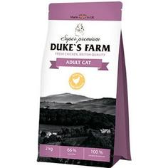 Корм для кошек DUKES FARM курица 2кг