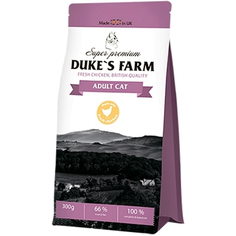 Корм для кошек DUKES FARM курица 300г