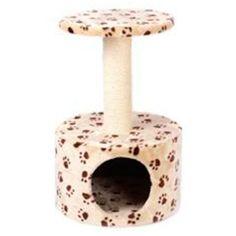 Дом-когтеточка для кошек MAJOR Лапы 40х40х60см