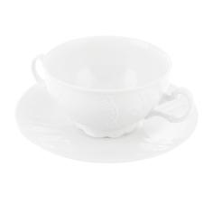 Чашка с блюдцем для бульона Thun 1794 18 см
