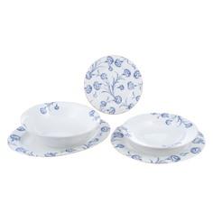 Сервиз столовый Macbeth bone porcelain Ксио 21 предмет 6 персон