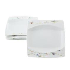 Набор тарелок суповых 23см флора 6 шт Thun 1794 eye
