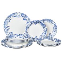 Набор посуды цветение Churchill 12 предметов 4 персоны
