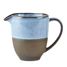 Молочник голубой/коричневый 150 мл Villa collection