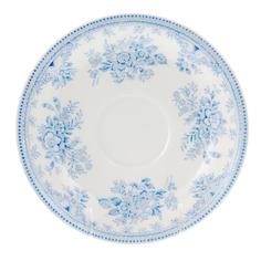 Блюдце чайное Burleigh синие азиатские фазаны