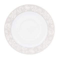 Блюдце чайное Porcelaine du reussy sancerre декор solene