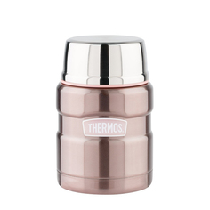 Термос с ложкой Thermos sk3000 pink 0,47л