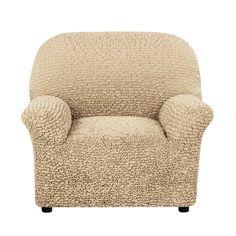 Чехол на кресло Микрофибра Кофейный Еврочехол