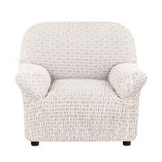Чехол на кресло Сиена Сатурно бежевый Еврочехол