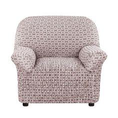 Чехол на кресло Сиена Сатурно коричневый Еврочехол
