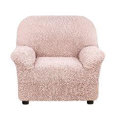 Чехол на кресло Микрофибра Античная Роза Еврочехол