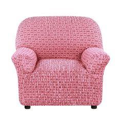 Чехол на кресло Сиена Сатурно бордовый Еврочехол