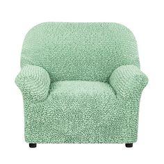 Чехол на кресло Микрофибра Фисташковый Еврочехол