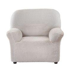 Чехол на кресло Элегант Кремовый Еврочехол