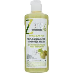 Жидкое мыло для очищения Zero Оливковое для любых поверхностей 500 мл