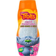 Шампунь-гель для волос и тела Trolls Детский 300 мл